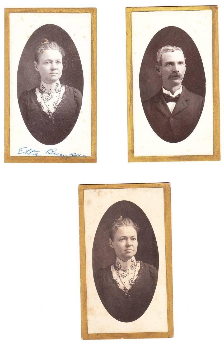 Cdv photos bumpus family