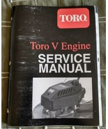 Toro V engine service manual 1995 Ships right away. - $11.83