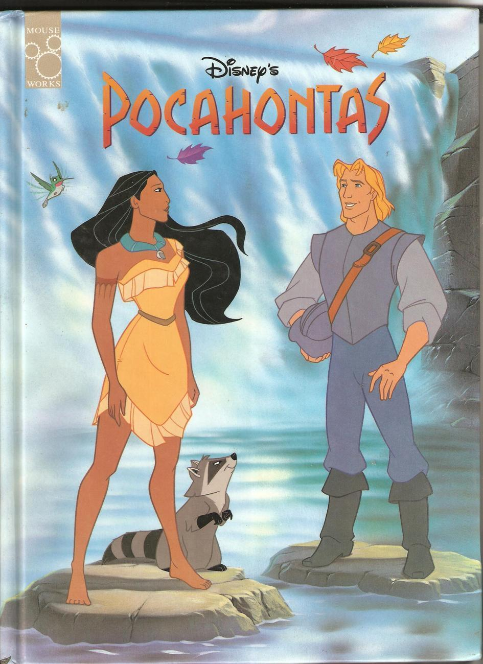 Children's Book  - Pocahontas (1995)