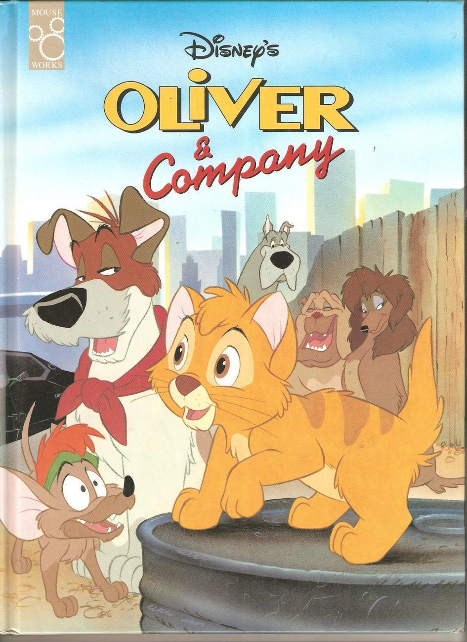 Children's Book - Oliver & Company