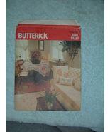 Butterick 6588 Craft Living Room Stencils - $7.97