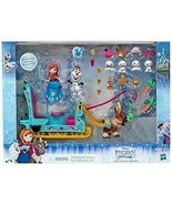 Disney Frozen Little Kingdom Anna and Friends Sleigh Ride Playset kids toy - $34.65