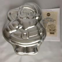 1993 Wilton Christmas Cake Pan Mold SANTA TREASURES Metal 2105-9338 VTG ... - ₨619.23 INR