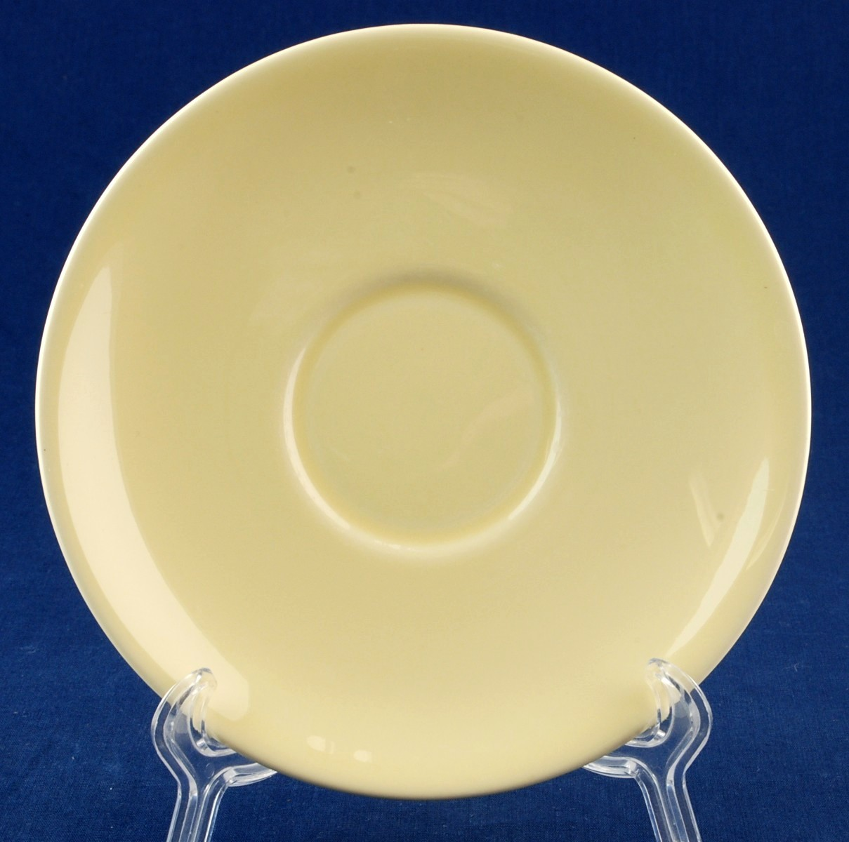Luray Lu-Ray Pastels Yellow Saucer Taylor Smith TS&T 1049 4501