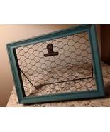 Chicken Wire Clip Board - $10.00