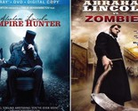 ABRAHAM LINCOLN; VAMPIRE HUNTER+VS ZOMBIES-Mary Elizabeth Winstead-NEW 2 BLU-RAY