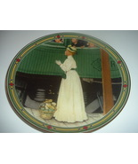 Norman Rockwell American Dream A Mothers Welcome Plate 1986 Vintage - $12.99