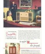 1947 Magnavox Cosmopolitan radio phonograph print ad - $10.00