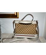 New $1470 Authentic GUCCI GG Monogram Handbag C... - $938.74