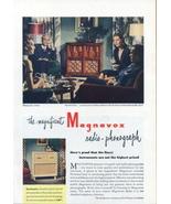 1945 Magnavox Belvedere Radio Phonograph print ad - $10.00