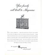 1948 Magnavox Windsor Imperial Radio Phonograph print ad - $10.00