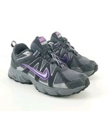 Nike Air Alvord Woman Size 7.5 Purple Gray Trail Hiking Athletic (unglued sole) - $34.64