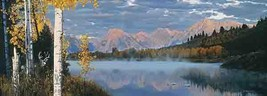 Rod Frederick Point of View Litho Mountain Lake S/N - $179.99