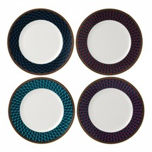 Wedgwood Byzance Accent Salad Plate Set Of 4 # 40023961 New - $168.30