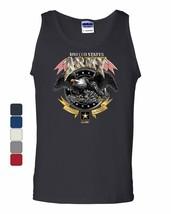 United States Army  Tank Top Loyalty Respect Bald Eagle Pow Mia Sleeveless - $12.90+