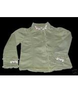 NWT Gymboree Tea Garden Embroidered Jacket Top Sz 5 - $17.99