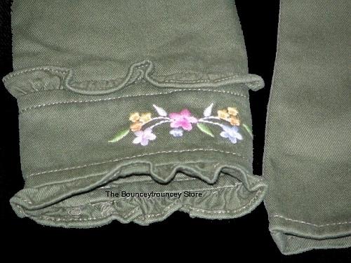 NWT Gymboree Tea Garden Embroidered Jacket Top Sz 5
