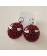 Spiderman Earrings - Great gift idea - $13.00