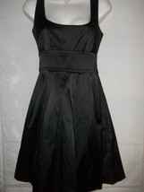 d07d56ed6 Ladies Junior Size 5 Teeze Me Black Satiny Net Lined Little Black Dress -  $31.67