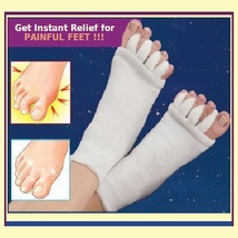 Unisex Massage Toe Socks Therapy For Foot & Toe Comfort  & Relaxation 5 Colors image 1