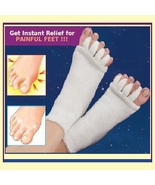 Unisex Massage Toe Socks Therapy For Foot & Toe Comfort  & Relaxation 5 ... - $0.00