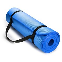 HemingWeigh 1/2-Inch Extra Thick High Density Exercise Yoga Mat with Car... - $23.52