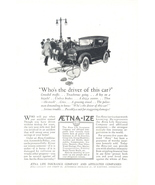 1924 Aetna Life Insurance car hit bicycle accident print ad - $10.00