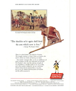 1962 Continental Insurance Destiny in our own hands print ad - $10.00