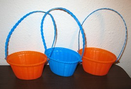 Set of 3 Small Stacking Easter Baskets in Color... - $4.99
