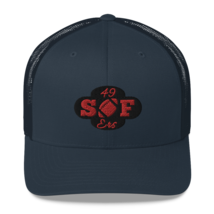 San Francisco Hat / 49ers Hat / Trucker Cap. image 7
