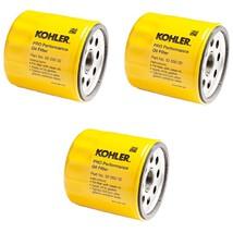3 Pk OEM Kohler Oil Filters For 25 050 34 S, AM101207, 042366, 220-1523 ... - $32.54