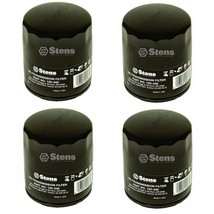 4 Oil Filters Fit AM101207 6513601 6652366 114-3494 2208174 5000440 - $24.45