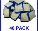 40 PK AIR FILTERS FOR BRIGGS & STRATTON JOHN DEERE CRAFTSMAN SEARS TORO +MORE