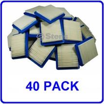 40 PK AIR FILTERS FOR BRIGGS & STRATTON JOHN DEERE CRAFTSMAN SEARS TORO +MORE - $96.02