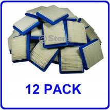 12 PK AIR FILTERS FOR BRIGGS & STRATTON JOHN DEERE CRAFTSMAN SEARS TORO +MORE - $38.20