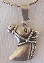 Stephan the horse pendant