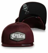 Sullen Art Collective Logo Actuel Tattoos Skull Urban Casquette Snapback... - $29.40