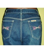 Sexy 80's Vintage High Waist Woman's Jeans - $6.95