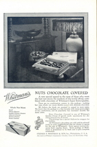 1931 Whitman's Nut Chocolate Covered special candy print ad - $10.00