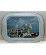 Expo 67 Worlds Fair Montreal Canada Souvenir Tray USA  - $8.00