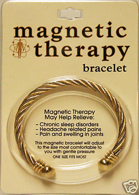 Magnetic Therapy Adjustable Wristband Bracelet Golf