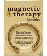 Magnetic Therapy Adjustable Wristband Bracelet Golf - $14.95