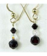 Facetd Black Swarovski Crystal Business Formal ... - $50.88