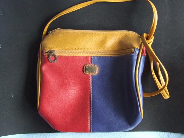 Handbag Gold,Red,Blue Shane
