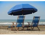 Blue beach umbrella 1  800x600  thumb155 crop