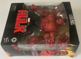 Hasbro Marvel Legends Series Red Hulk 6 inch Action Figure Target Exclusive NIB image 2