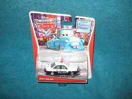 Disney Pixar Cars. Patokaa.Police Car Brand New on Card. - $12.86