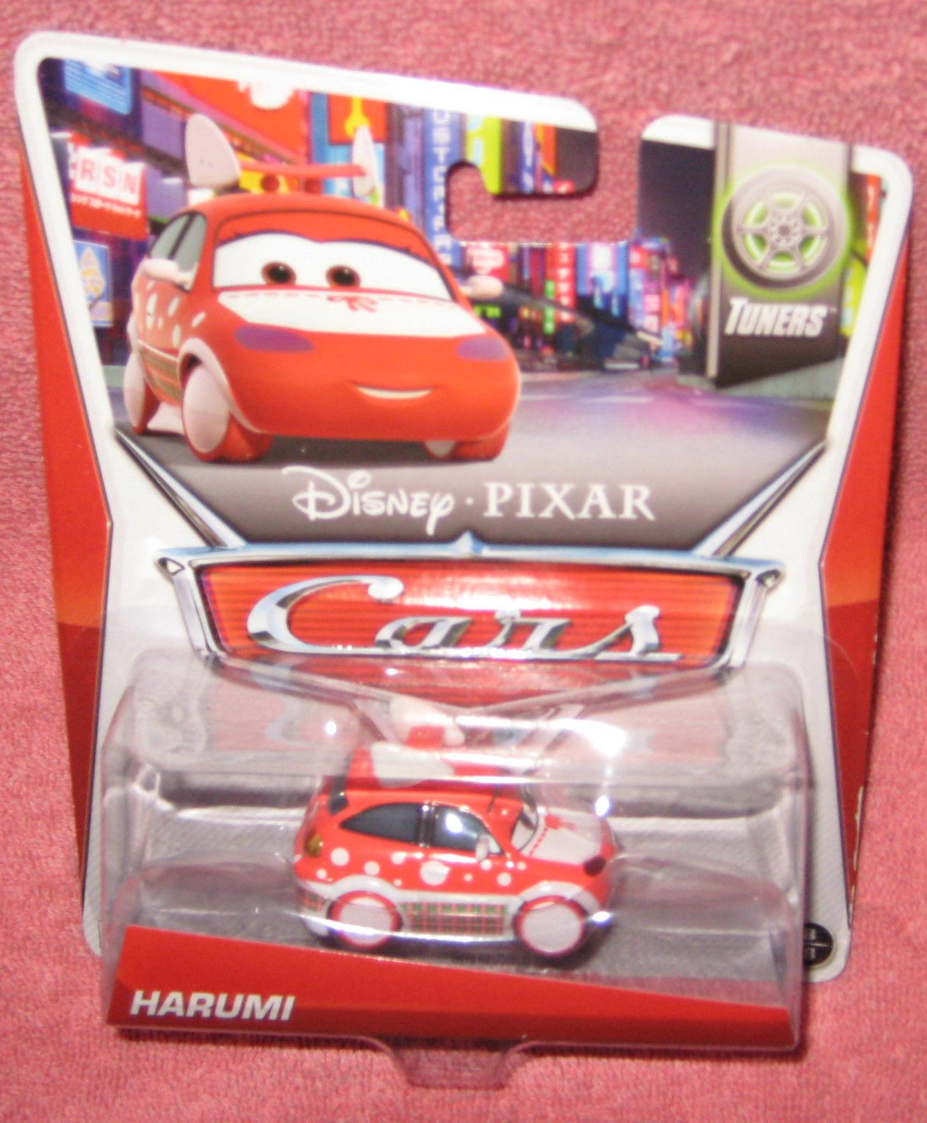 Disney Pixar Cars 2 Harumi. 2014 Release Tuners # 8 of 8.