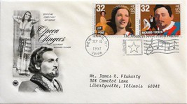 Sept. 10, 1997 First Day of Issue, PC Society Covers, Opera-Pons/Tucker #39 - $1.48
