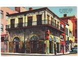 Vintage linen postcard old absinthe house bourbon street new orleans la thumb155 crop